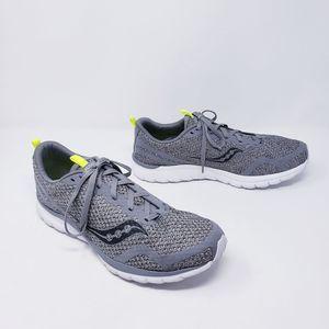 Saucony Liteform Series Gray Sneakers Size 13